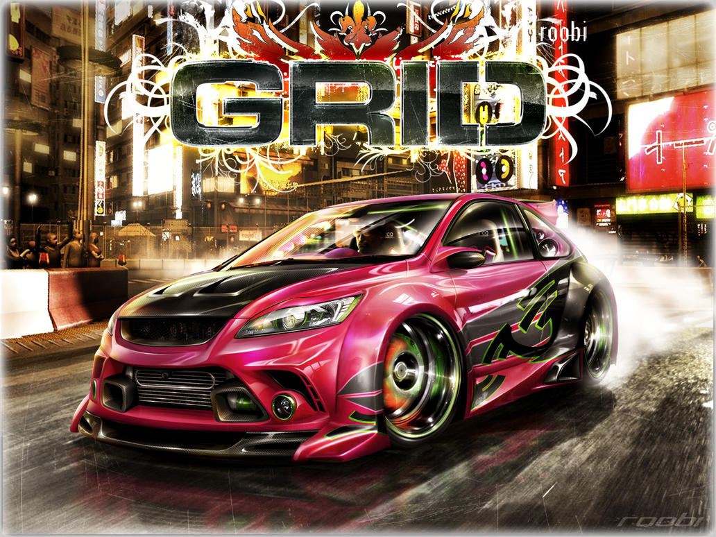 Ford Focus GRID by roobi