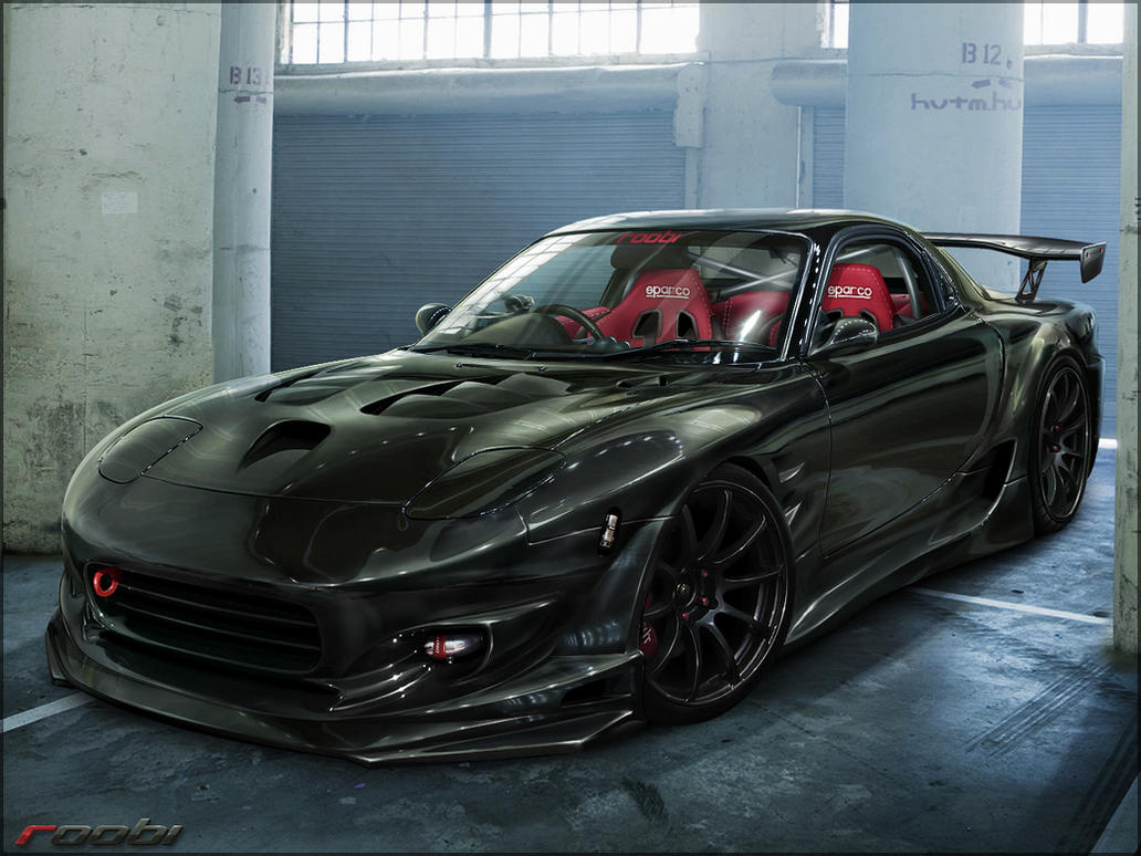 Mazda RX7 by roobi