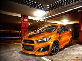 GURNADE Chevrolet Aveo RS by roobi
