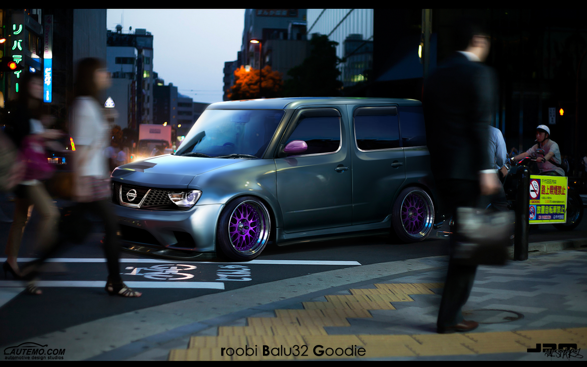 wtb 39 11 nissan cube by roobi on deviantart. Black Bedroom Furniture Sets. Home Design Ideas