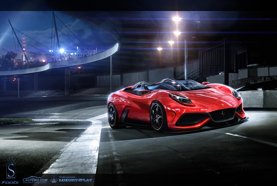 WTB'12 Ferrari F12 Berlinetta by roobi