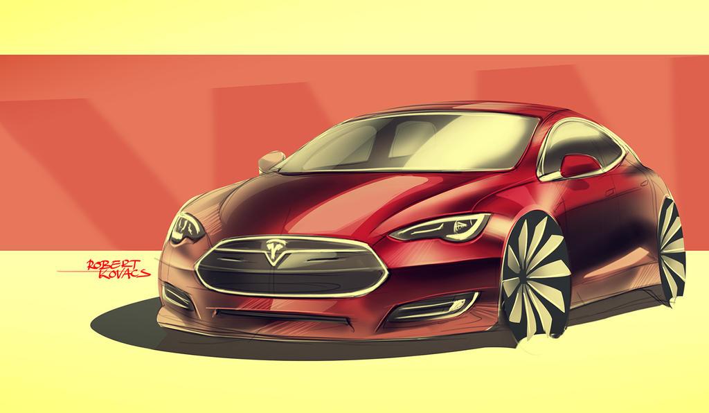 Tesla by roobi
