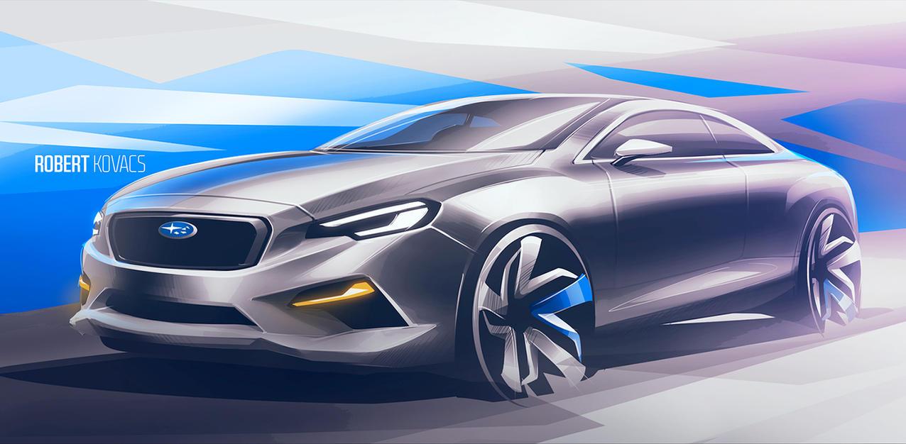 Subaru Impreza by roobi