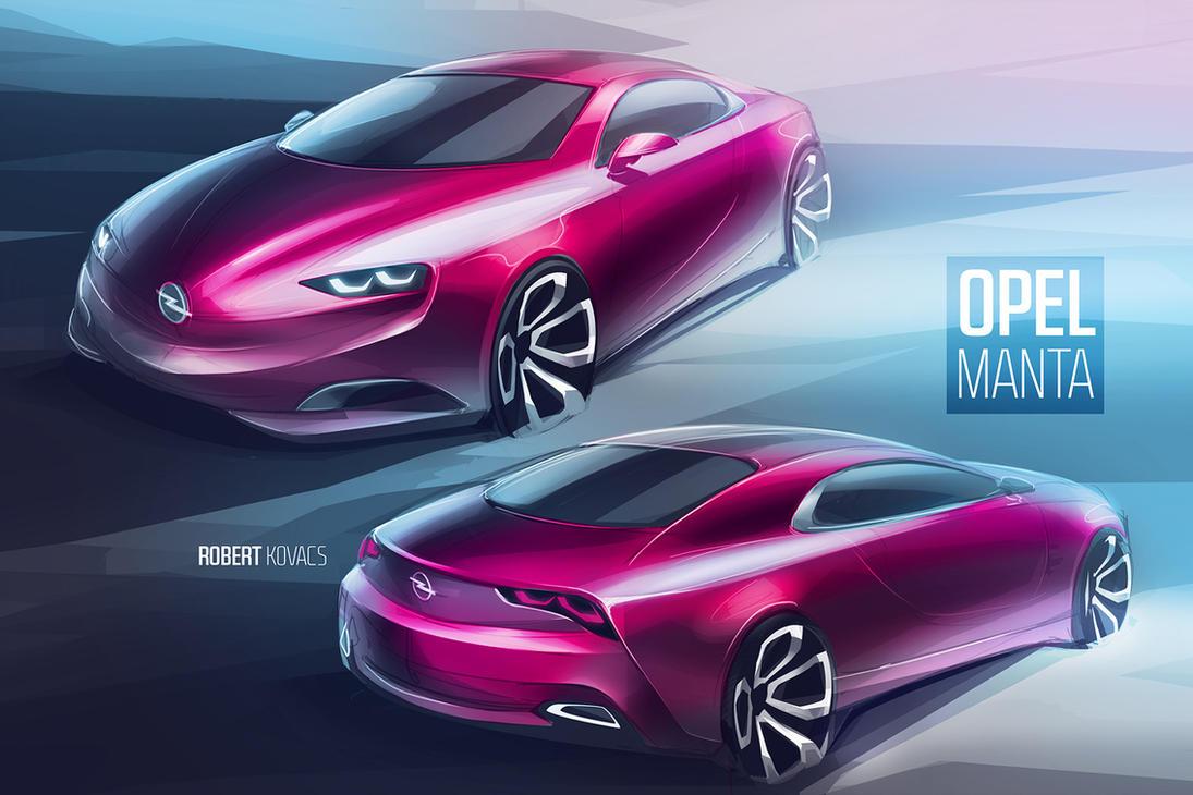 Opel Manta by roobi