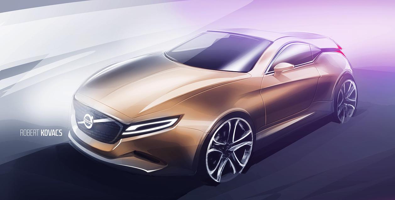 Volvo Sketch by roobi