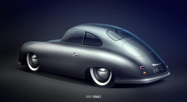 Porsche 356 Speedster By Roobi On Deviantart