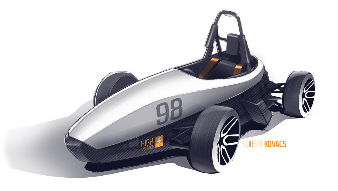 Formula Student racecar by roobi