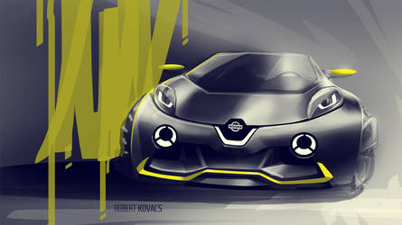 Nissan Mini Juke by roobi