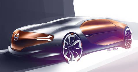 Volvo Concept by roobi