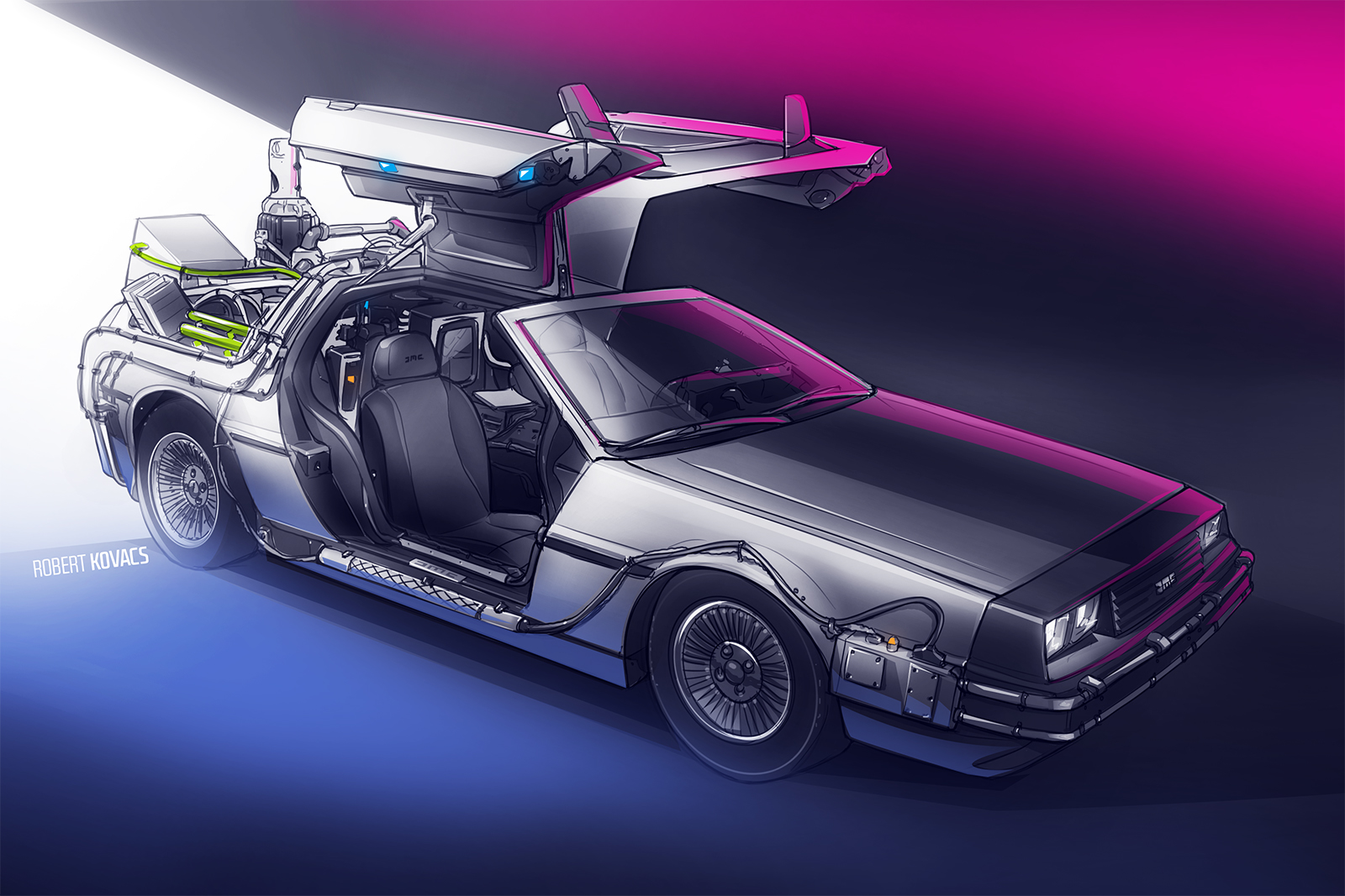 Back To The Future By Roobi On DeviantArt