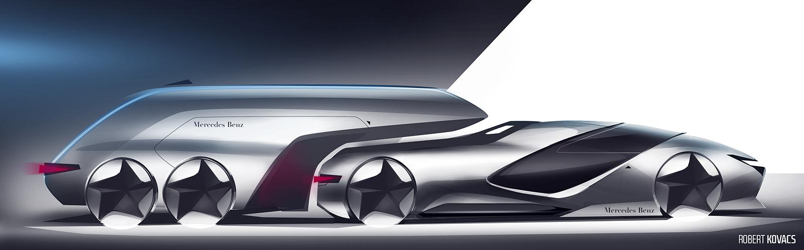Mercedes Sport Pickup by roobi
