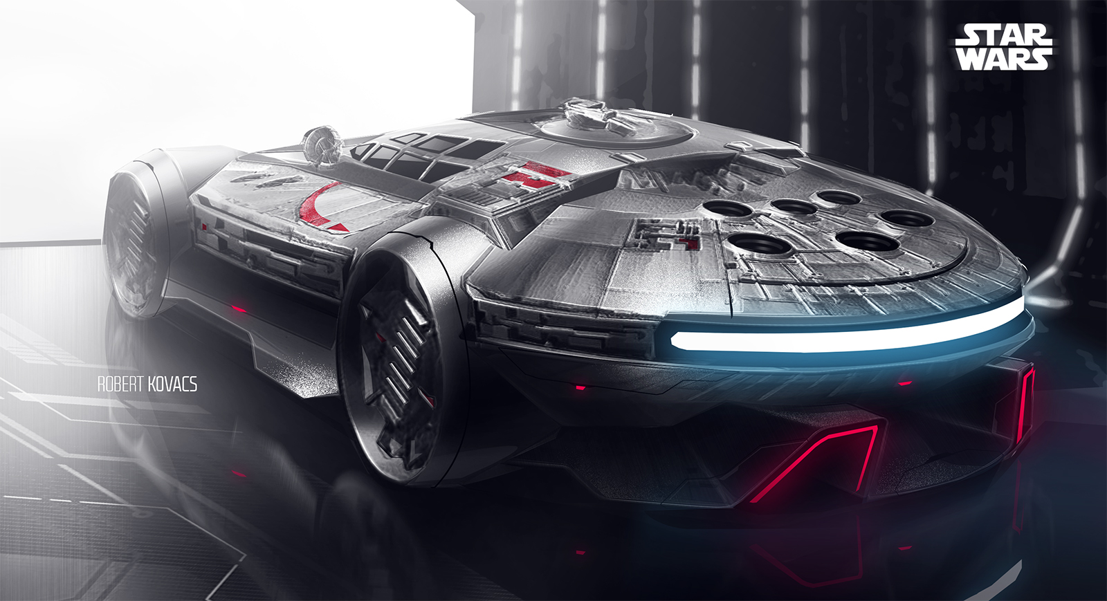 Dodge Chargers become Star Wars Stormtroopers for Uber