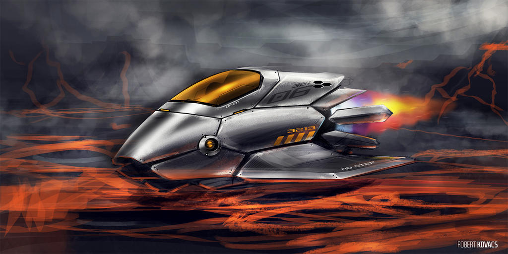 Lava Rider by roobi
