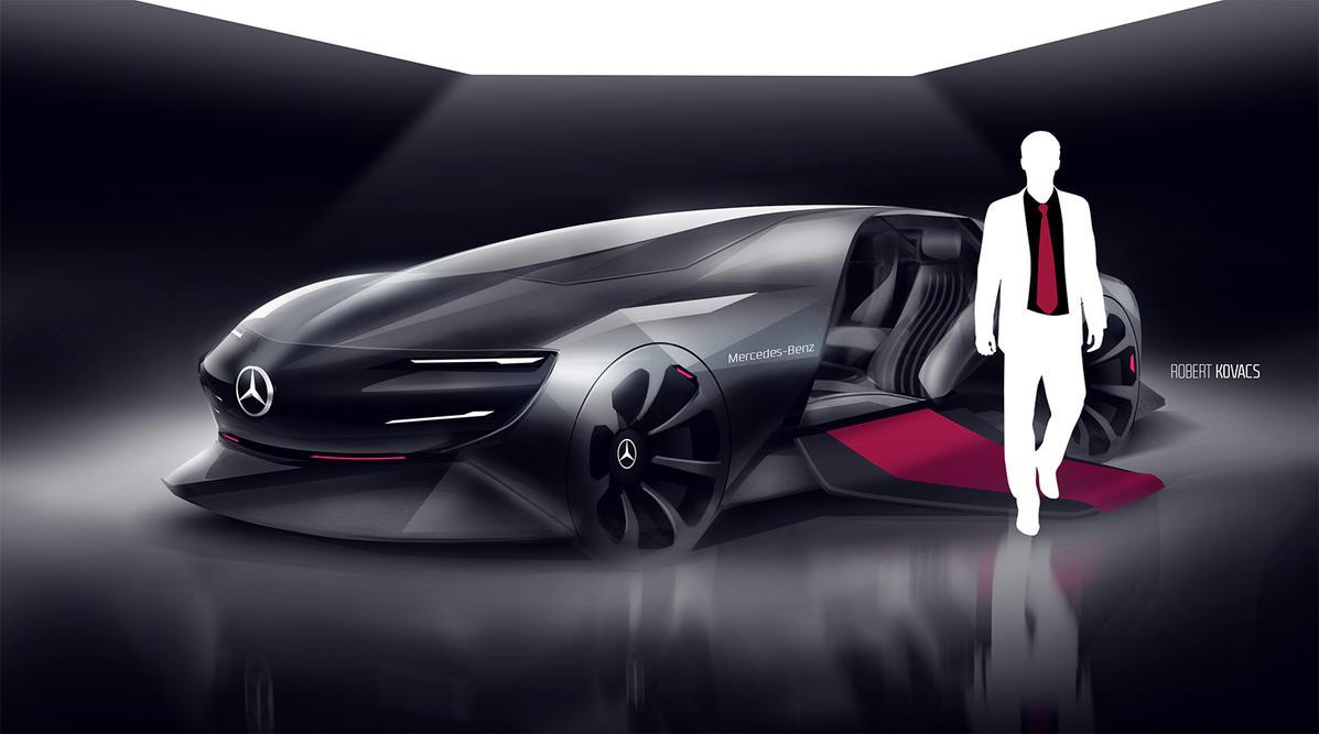 Mercedes Modern Luxury #01 by roobi