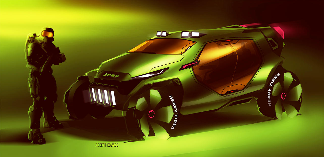 Halo Jeep by roobi