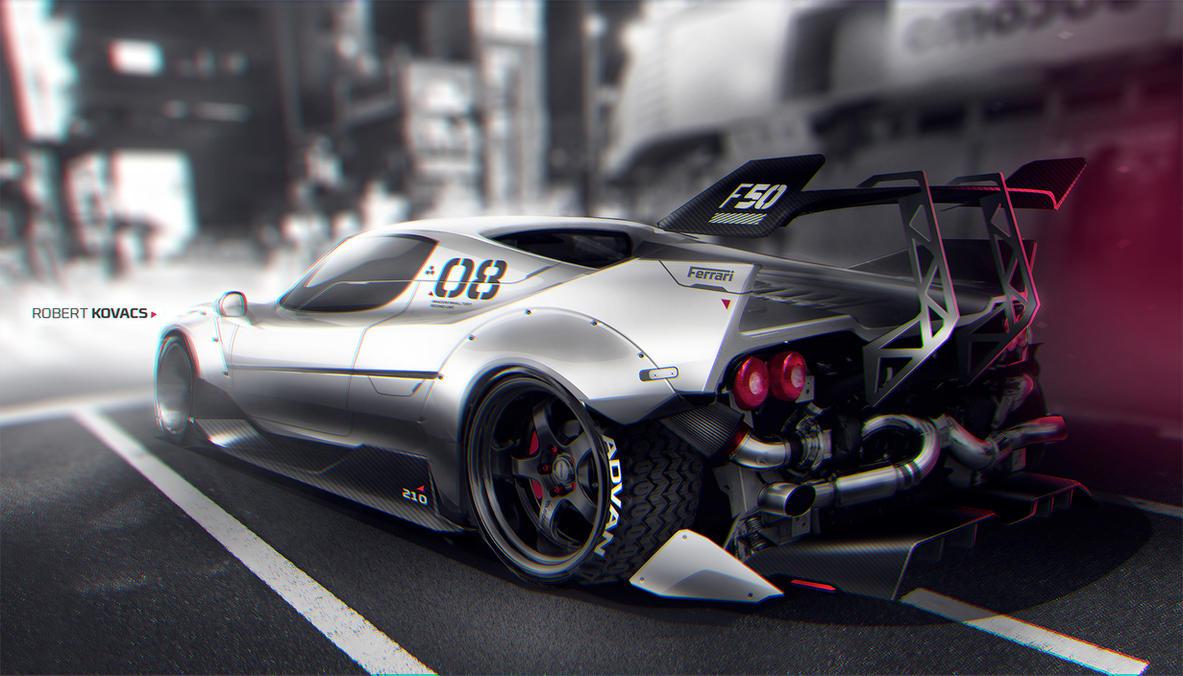 Ferrari F50 by roobi