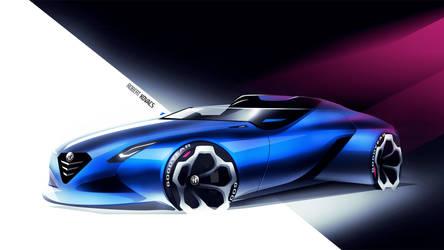 Alfa Romeo Spider [video] by roobi