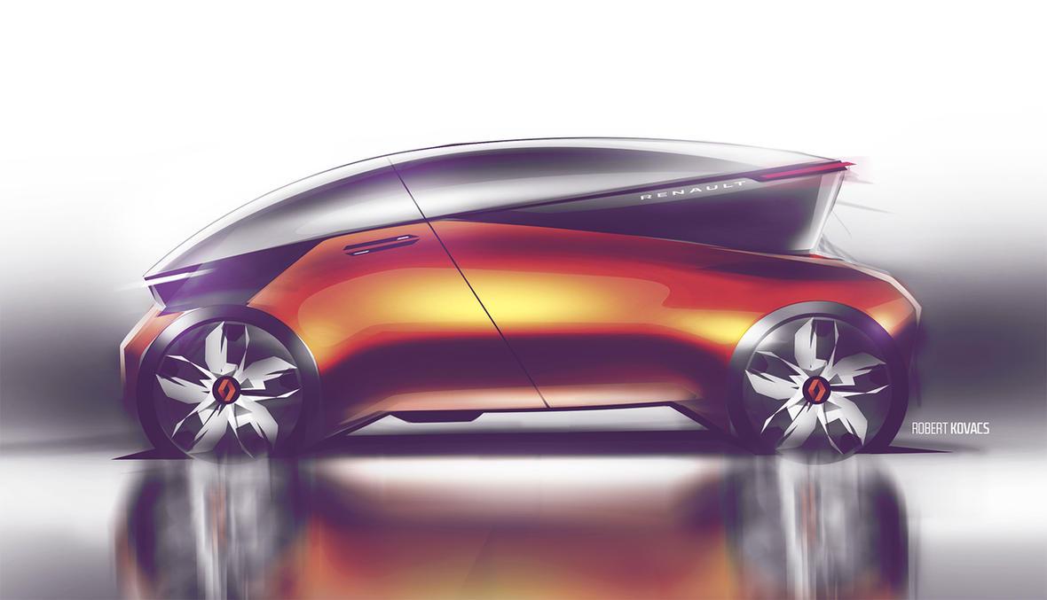 Renault SUV by roobi