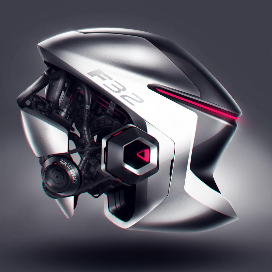 Helmet 02 by roobi