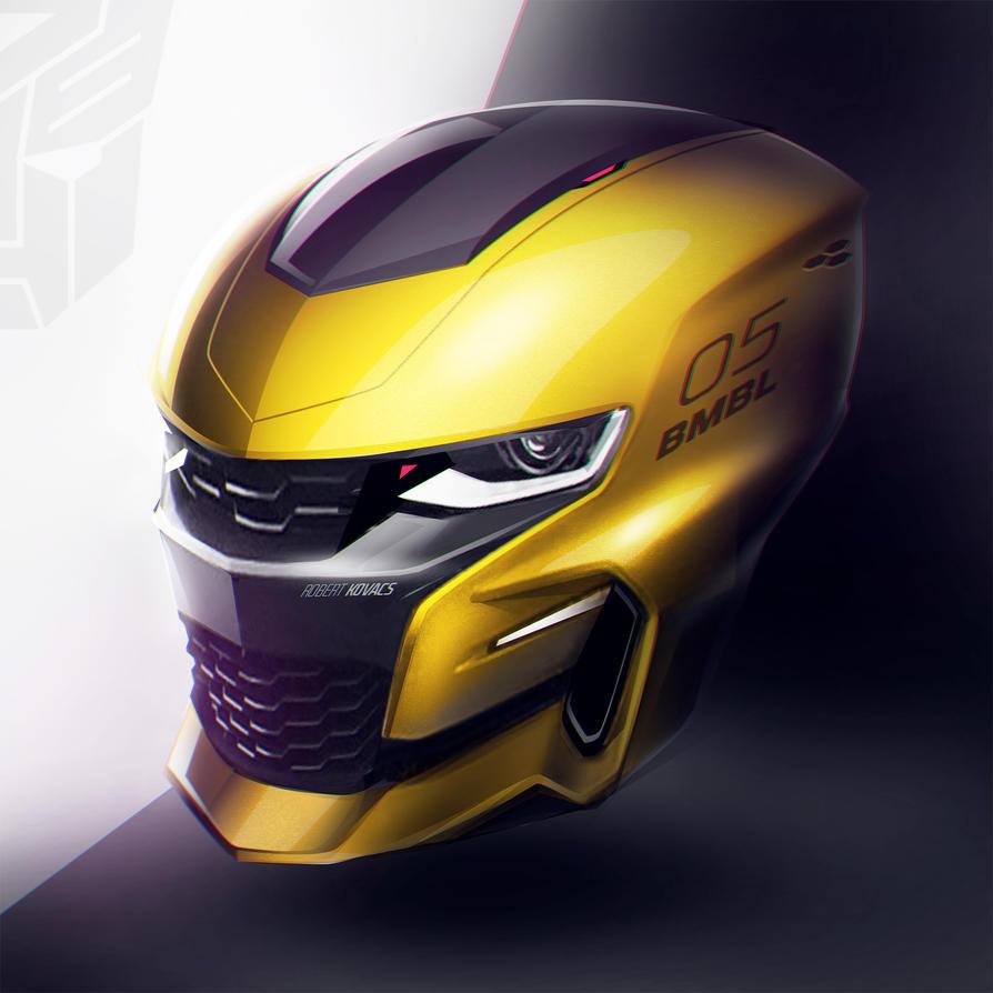 Bumblebee Helmet by roobi