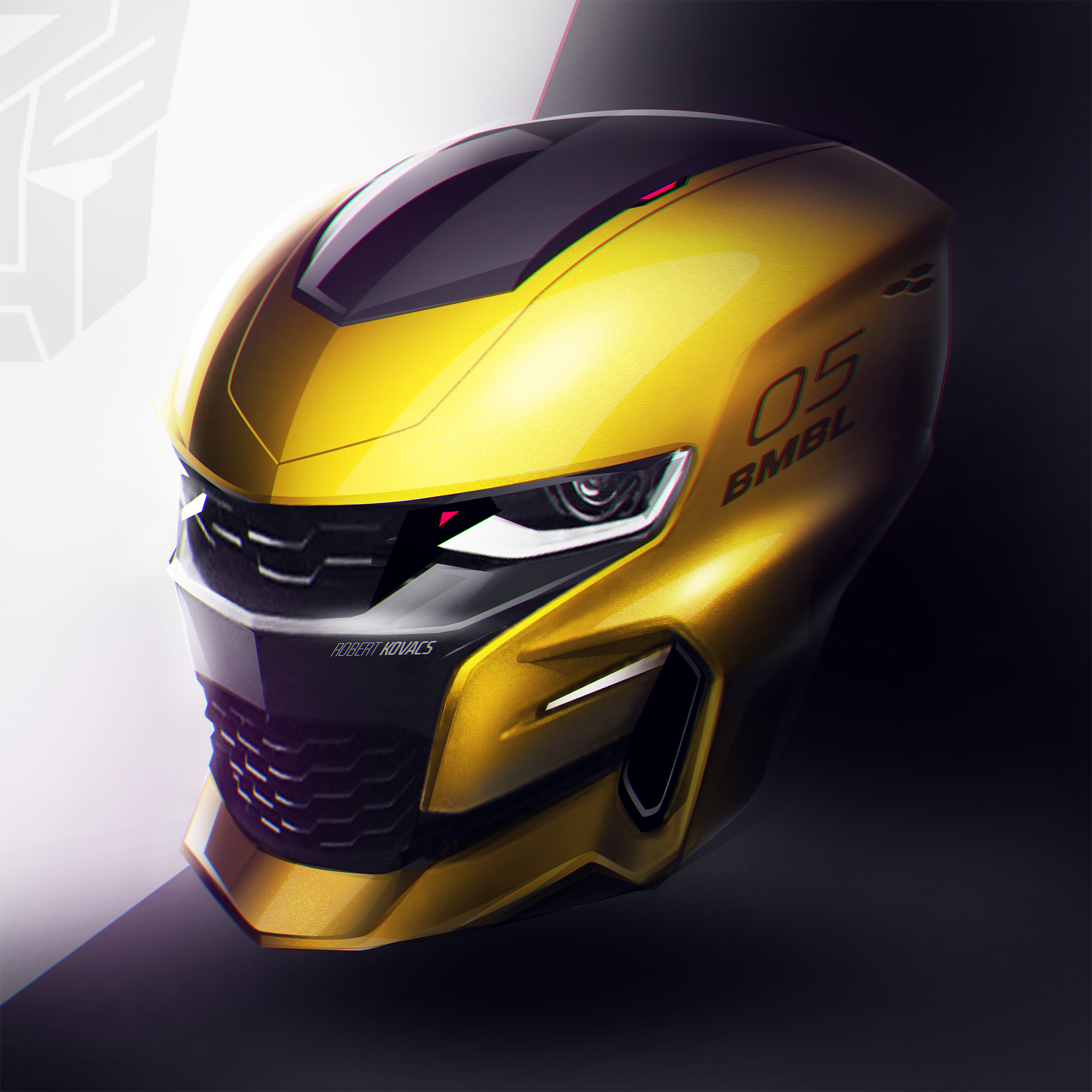 Bumblebee Helmet By Roobi On Deviantart