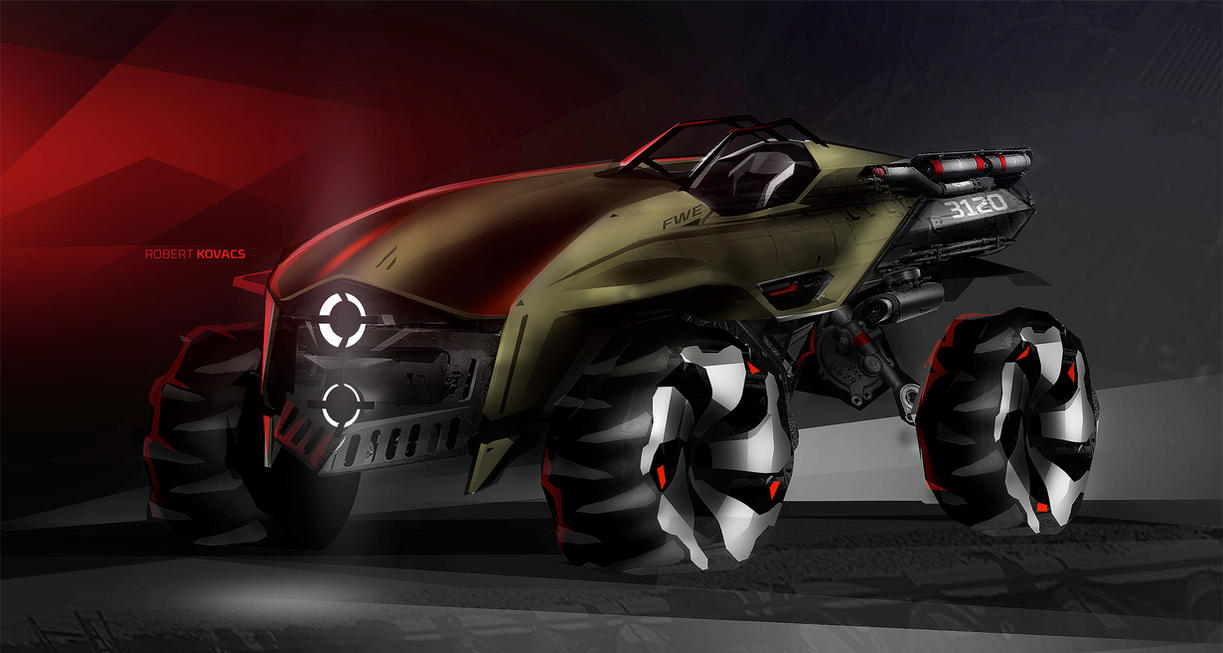 Army Buggy by roobi