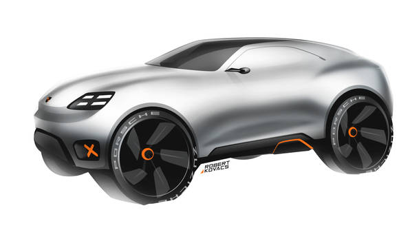 Porsche SUV [video]