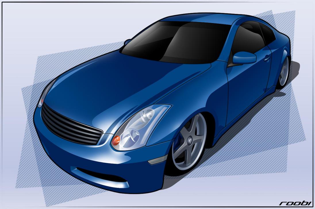 Cartoon Nissan Skyline Nissan Skyline by Roobi