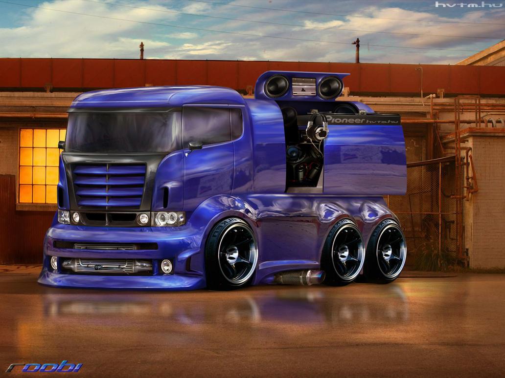 Scania R420 Art by roobi
