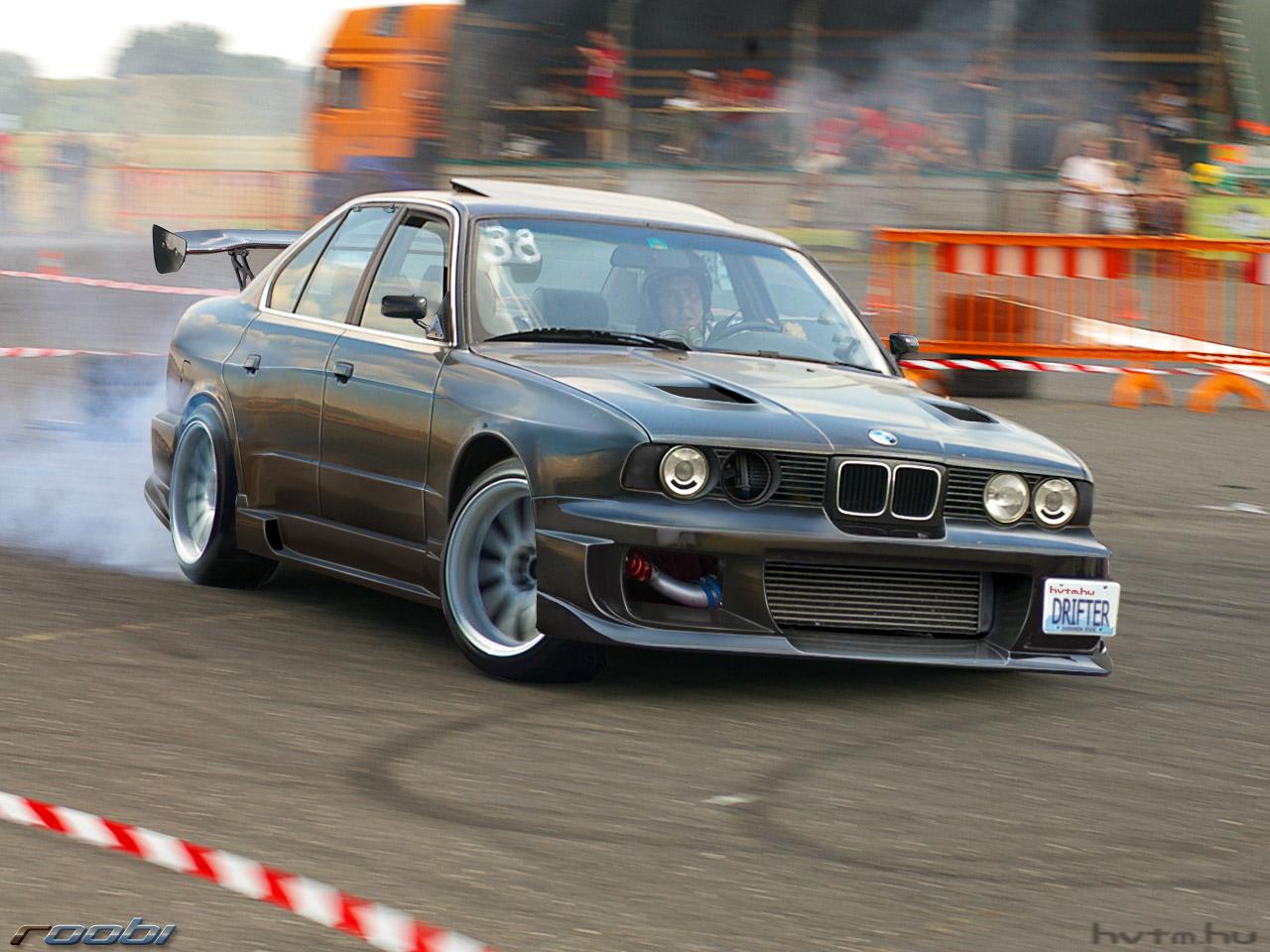 Bmw E34 Drift By Roobi On Deviantart