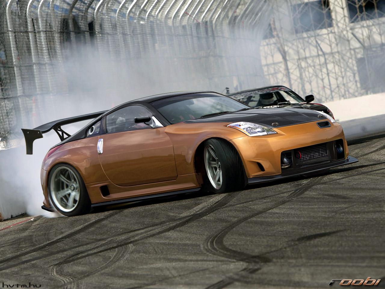 Nissan 350Z Produces Impressive V6 Power Sports Car