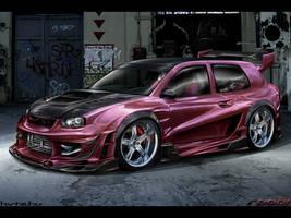 VolksWagen Golf IV Extreme by roobi