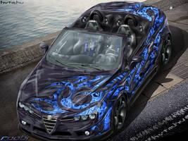 Alfa Romeo Spider Airbrush by roobi