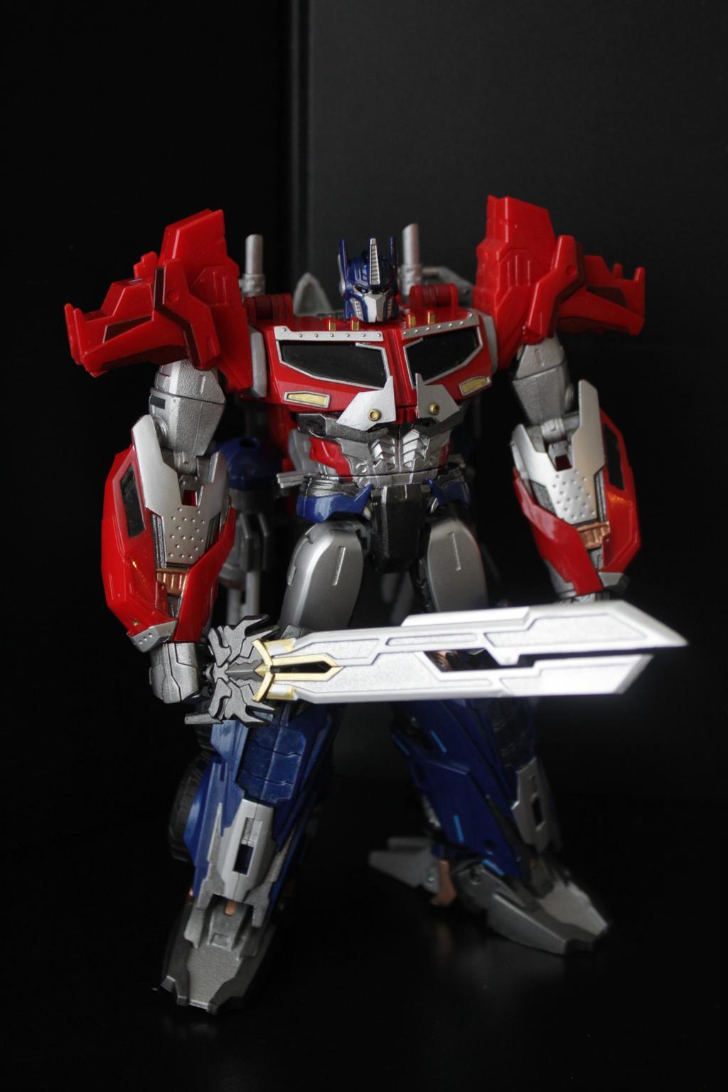 Beast Hunters: Optimus Prime Custom by Npiece on DeviantArt