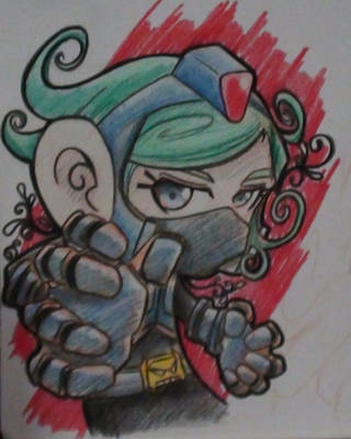 metal ninja by ektoblood