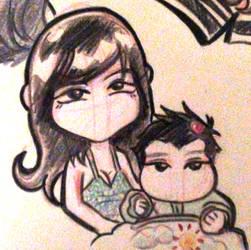 anggela y baby