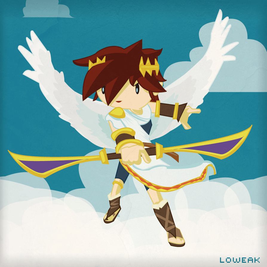 Kid Icarus By Loweak On DeviantArt