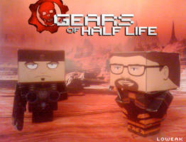 Gears of Half Life Papercraft
