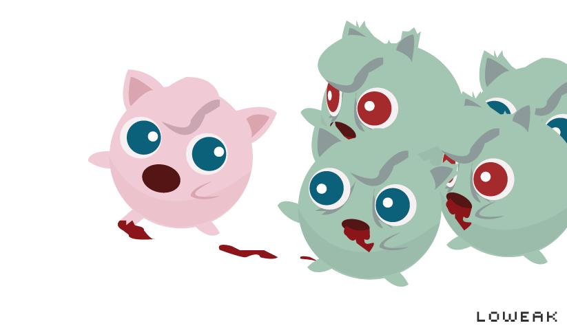 Zombie Pokemon Attack By Loweak On DeviantArt