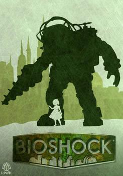 Bioshock minimalist poster