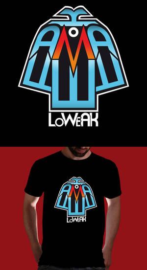 Logo Loweak and Shirt