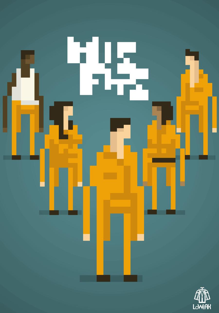 Pixel Art Misfits by Loweak