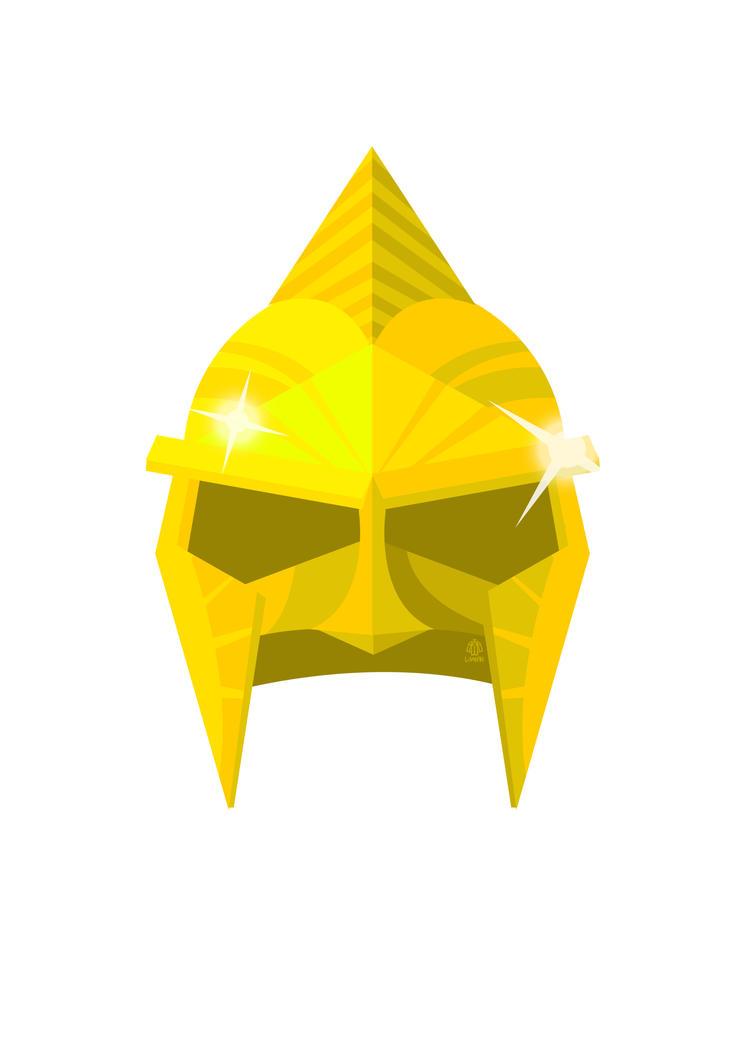 Immortals God s Helmet Flat minimalist Poster by Loweak