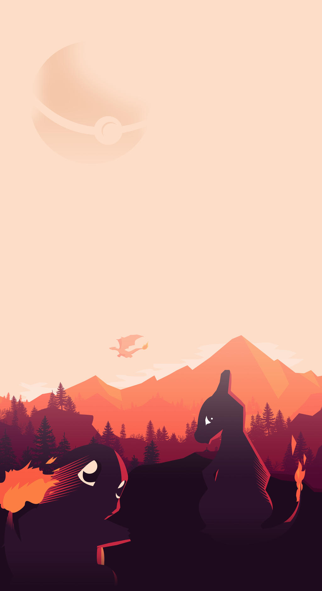 Pokemon vector minimalist poster by loweak on deviantart for Minimal art vector