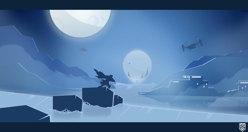 Destiny Minimalist Poster by Loweak