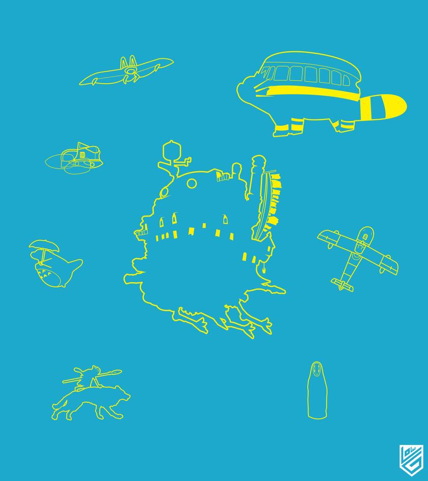 Ghibli Icon Serie by Loweak