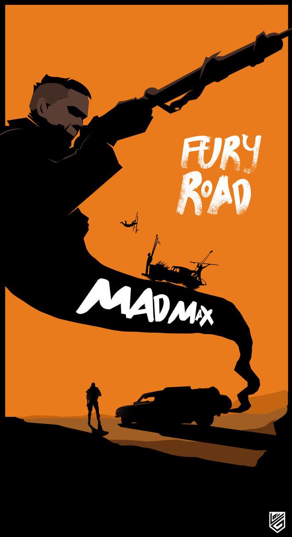 Mad Max Fury Road Minimalist Poster by Loweak