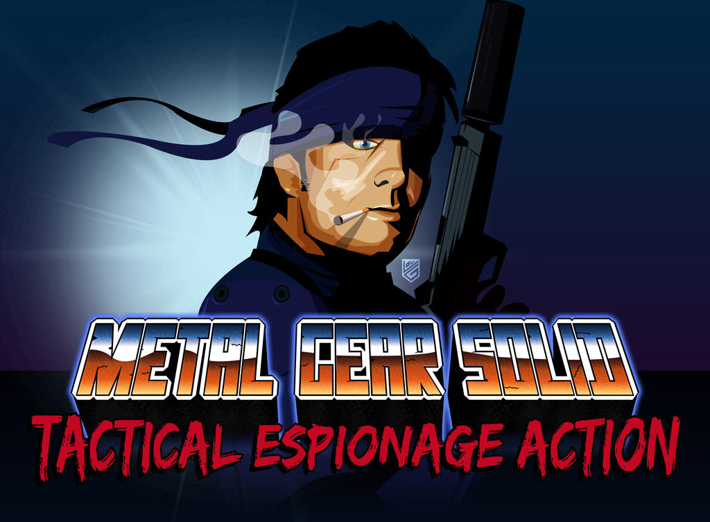 Metal Gear Solid 80's Version by Loweak