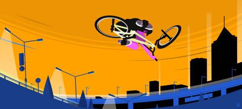 BMX Jump by Loweak
