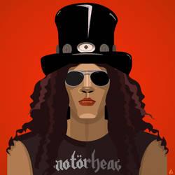 Slash digital poster